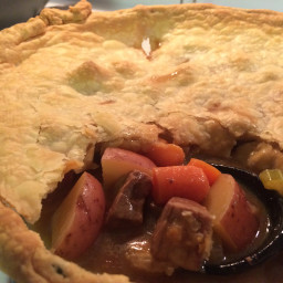 Beef and Vegetable Potpie Casserole