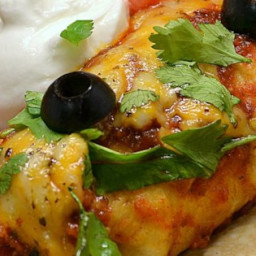 Beef Enchiladas with Spicy Red Sauce Recipe