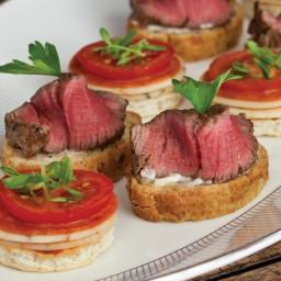 Beef Fillet Crostinis