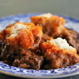 Beef Goulash with Dumplings