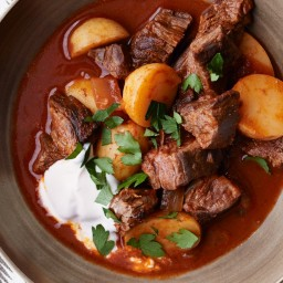 Beef Goulash With Potatoes