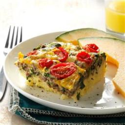 Beef, Potato and Egg Bake Recipe