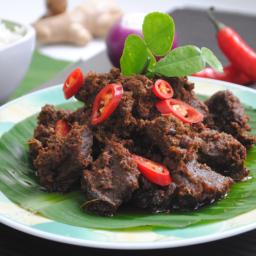 Beef Rendang Recipe (Rendang Minang)