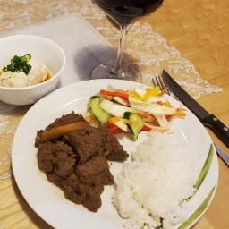 Beef Rendang Sous Vide- W&J style