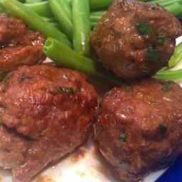 Beef- Sesame-Soy Meatballs