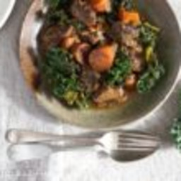 Beef Stew with Anchovies and Kale