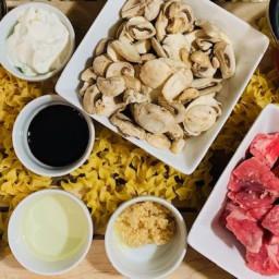 Beef Stroganoff- Ninja Foodi Recipe