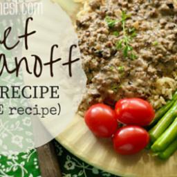 Beef Stroganoff Recipe - E Style!