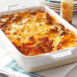 Beef Taco Lasagna Recipe