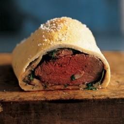 Beef Tenderloin with Herb Salt Crust