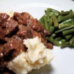 Beef Tips in the Crock Pot