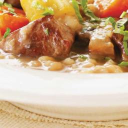 Beef, Vegetable and Barley Stew