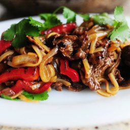 Beef with Peppers