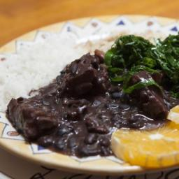Beef and Black Beans With Rice