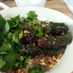 Beef/Pork in Wild Betel Leaf (Bo La Lot)