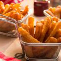 Beer-Battered Fries
