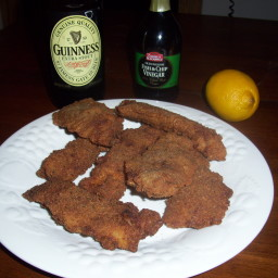 Beer battered Pollock