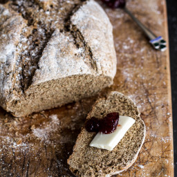 Beer and Rye Irish Soda Bread