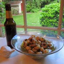 Beerly Marinated Mushrooms