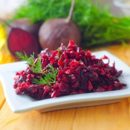 Beet and Red Cabbage Slaw