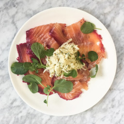 Beet-and-Vodka-Cured Gravlax