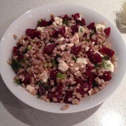 Beet & Barley Salad