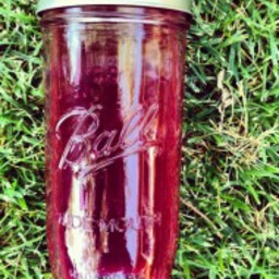 beet, carrot, apple and ginger juice – no juicer required