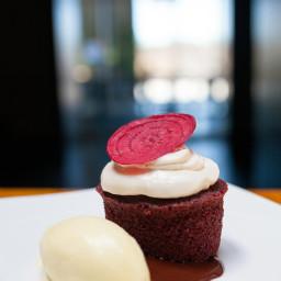 Beet Red Velvet Cake