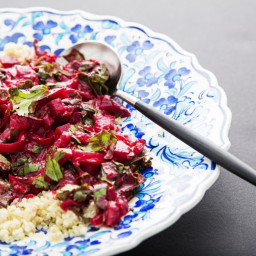 Beet, Tomato and Coconut Curry