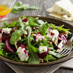 Beet, Walnut and Gorgonzola Salad