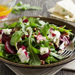 Beet, Walnut and Gorgonzola Salad
