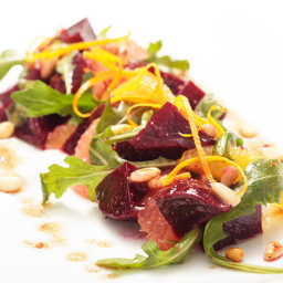 Beet and Citrus Salad with Pine Nut Vinaigrette