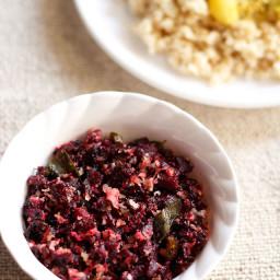 beetroor poriyal recipe
