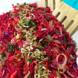 Beetroot, Fennel and Carrot Salad