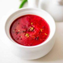 Beetroot tomato rasam recipe