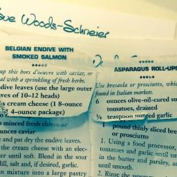 Belgian Endive with Smoked Salmon