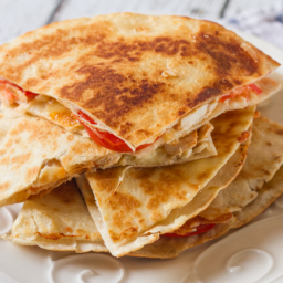 Bennigan's Chicken Quesadilla