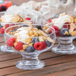 Berries with Spiced Cream