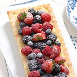 Berries and Creme Tart