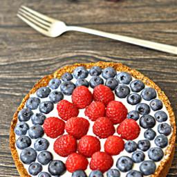 Berry and Greek Yoghurt Tart
