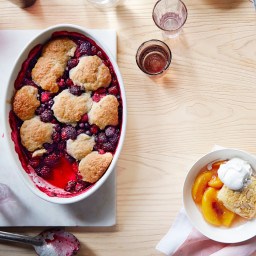 Berry and Thyme Cobbler