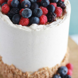 Berry Cobbler Cake