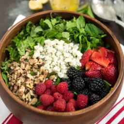 Berry Herb Salad