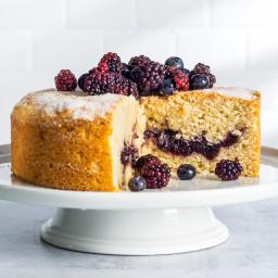 Berry Jam Cake