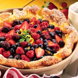 Berry Pancake Puff