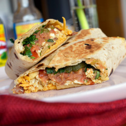 Best Breakfast Burrito VEGAN