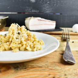 Best Carbonara Recipe with Normal or Gluten-free Pasta