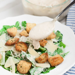 Best Creamy Caesar Salad