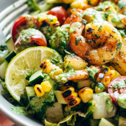 Best Detox Grilled Chopped Salad