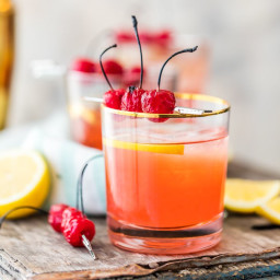 Best Ever Broiled Cherry Whiskey Sour